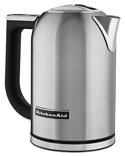 At Buy Kitchenaid Kek1722sx Electric Kettle With Led Display 1 7 Liter Brushed Stainless Steel Kitchen Dining