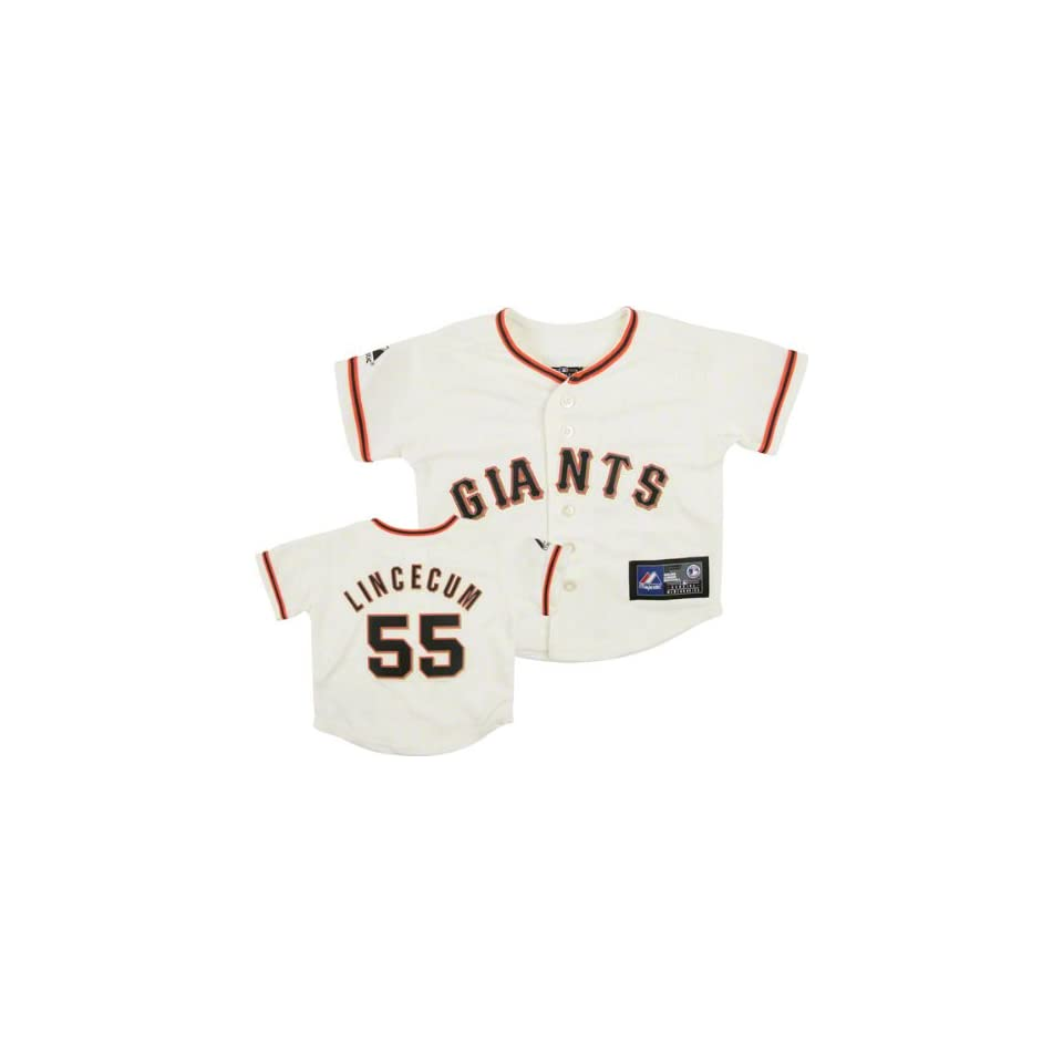 Tim Lincecum Majestic Replica San Francisco Giants Infant Jersey