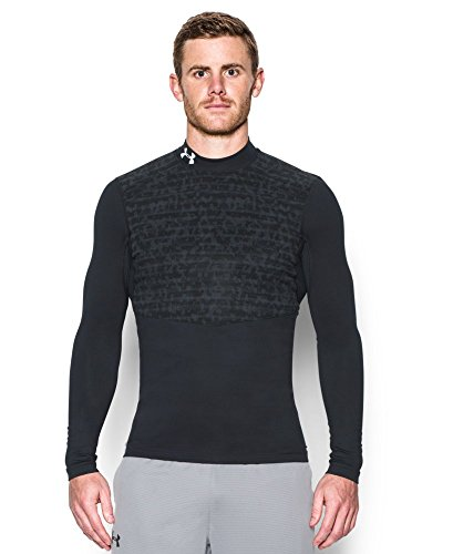 Under Armour Men's ColdGear Armour Insulated Compression Mock, Black (001), Large