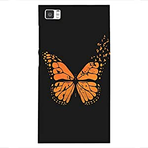 Back cover for Xiaomi Mi3 Free Bird Butterfly