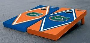 Florida UF Gators Cornhole Game Set Alt Diamond Gator Version Corn Hole by Gameday Cornhole