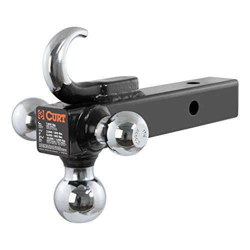 Check Out This CURT 45675 Class 3 Hitch TriBall with Hook