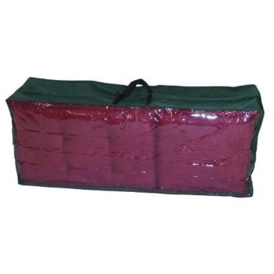 Greemotion Schutzhülle für Kissen und Auflagen wasserabweisend mit Reißverschluß und Fenster, Grün, ca. 125 x 50 x 32 cm von greemotion - Gartenmöbel von Du und Dein Garten