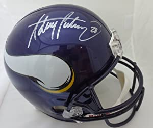 Adrian Peterson Autographed Minnesota Vikings Signed Full Size Helmet by Powers Collectibles