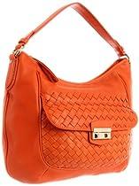 Cole Haan Victoria B40000 Hobo,Corporate Orange,One Size