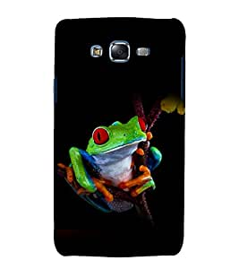 printtech Nature Frog Back Case Cover for Samsung Galaxy J1::Samsung Galaxy J1 J100F