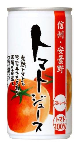 ゴールドパック 信州・曇野野 トマトジュース 有塩 190g×30本