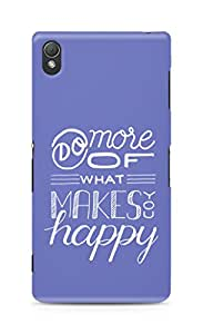 AMEZ do more of what makes you happy Back Cover For Sony Xperia Z3