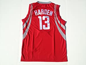 Houston Rockets JAMES HARDEN Signed Autographed Jersey COA by Basketball