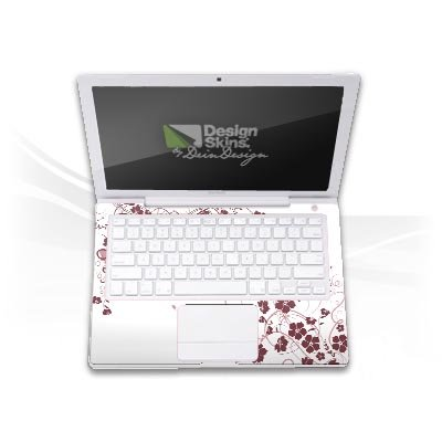 Design Skins f&#252;r TOSHIBA Satellite L670D-11T Tastatur - Floral Explosion Design Folie
