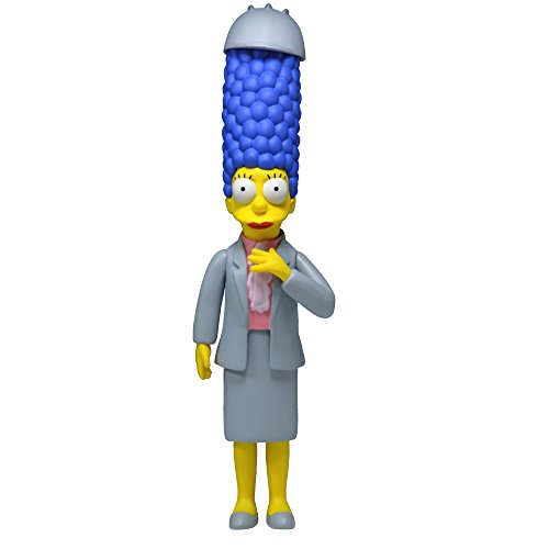 "NECA Simpsons 25th Anniversary Series 4 Marge Simpson (Working Woman Marge) 5"" Core Action Figure"