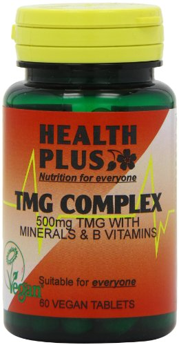 Health Plus TMG Complex Heart Health Supplement - 60 Tablets