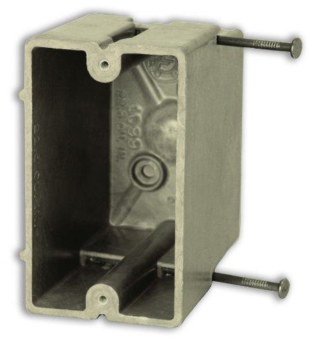 Allied Moulded H1099=N Single Gang Fiberglass Box