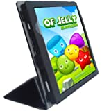 "iShoppingdeals - for Le Pan Mini 8"" Tablet (Model TC802A Only) Folding Folio Skin Cover Case, Black"