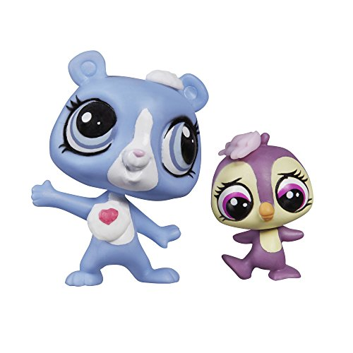 Littlest Pet Shop Pet Pawsabilities Tundra Marchand & Flip Flurry