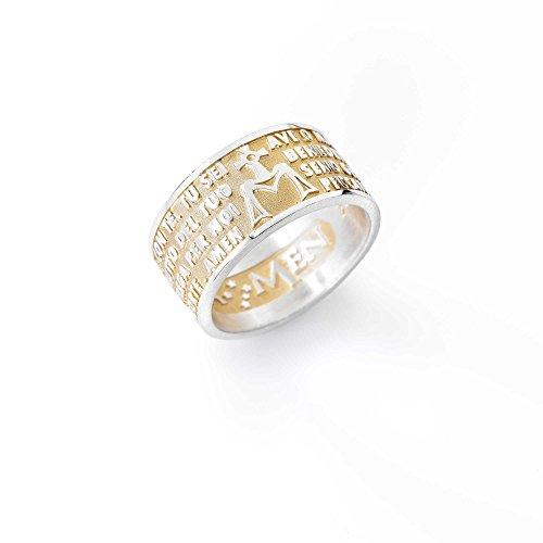 anillo-unisex-joyas-amen-ave-maria-tamano-12-casual-cod-amg-12