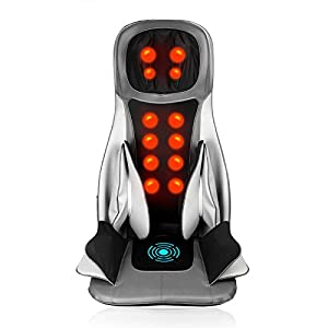 GESS<sup>®</sup> Shiatsu Full Body Massage Cushion with Heat, 18 width=