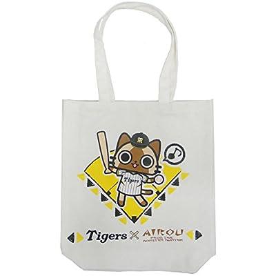 アイルー 阪神タイガース トートバッグ カバン モンスターハンター モンハン Tigers AIROU 白