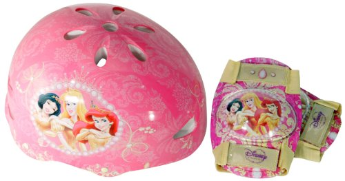 Season of Enchantment Hardshell Bicycle Helmet and Protective Pad Value Pack (Child)