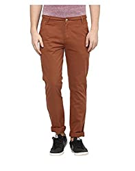 Yepme Men's Brown Cotton Colored Pants - YPMPANT0078_28