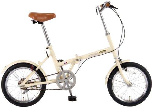 シンプルスタイル(SimpleStyle) 16型折畳自転車 FV16 (16型) SS-H16/
