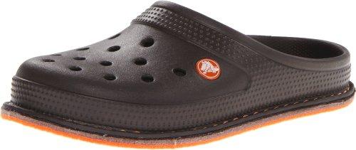 Crocs Unisex 14671 Crocslodge Sandal,Espresso,6 M Us front-672902