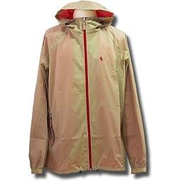 Ferrari men\'s bicolor Rainjacket gray L
