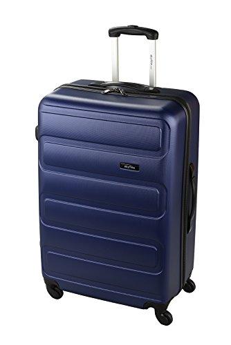 skyflite-connect-54cm-hard-shell-four-wheel-spinner-case-in-blue