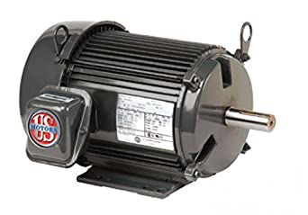 Us electric motors nidec u7e2dc 213tc frame totally for Totally enclosed fan cooled motor