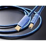 フルテック ハイエンドオーディオグレードUSBケーブル 【A】タイプコネクターオス⇔【B】タイプコネクターオス (0.6m) GT2 USB-B/0.6m