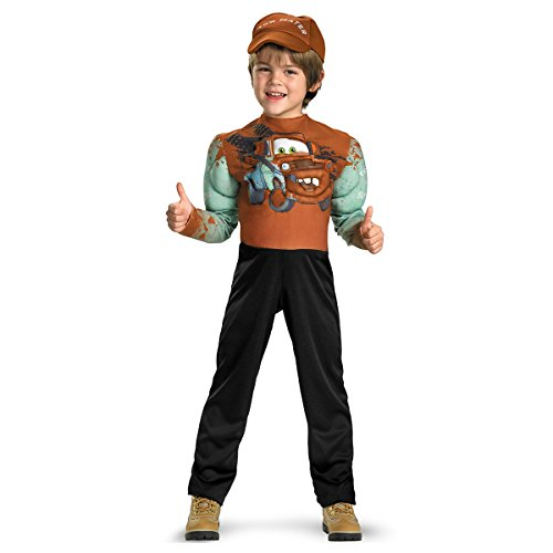[Tow Mater Classic Muscle Costume - Medium] (Cars Movie Costumes)