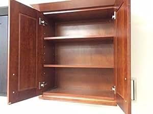 amazon com all wood 10x10 kitchen cabinets maple honey