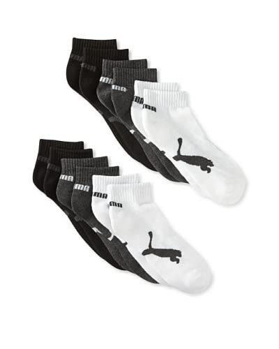 Puma Men's Half Terry Crew Socks (6 Pairs)