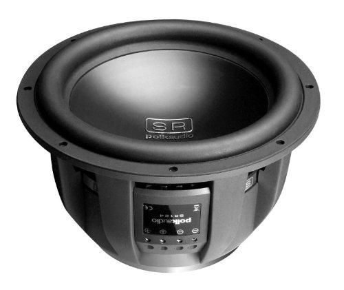 "Polk Audio Sr 124-Dvc - Car Subwoofer - 700 Watt - 12"" - Black"