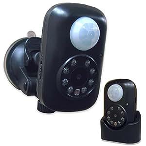 Hanwha SDHCカード付属 / SDカード録画 赤外線 & 人体検知センサー搭載 小型オートビデオレコーダー DVR-Q2(8GB) [microSD 自動録画][バッテリー内蔵][夜間撮影][赤外線カメラ][監視カメラ][防犯カメラ]