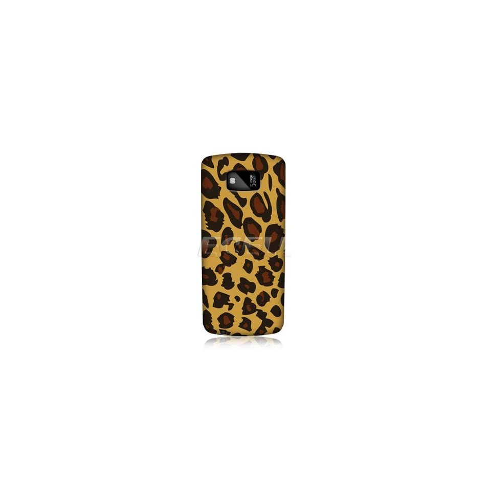 Ecell   HEAD CASE DESIGNS EXOTIC YELLOW LEOPARD PRINT BACK