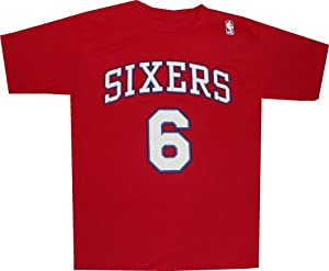 Philadelphia 76ers Sixers Julius Erving 1983 Gametime Throwback Red Shirt by adidas