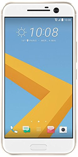 HTC 10 Smartphone (13,2 cm (5,2 Zoll) Super LCD 5 Display, 1440 x 2560 Pixel, 12 Ultrapixel, 32 GB, Android) topaz gold