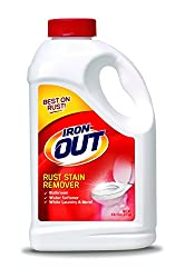 Iron Out IO65N Rust Stain Remover-4 Pounds 12 Ounces-Multi Purpose Rust Stain Remover for Toilets, White Laundry, Sinks, Tubs, Tile and More