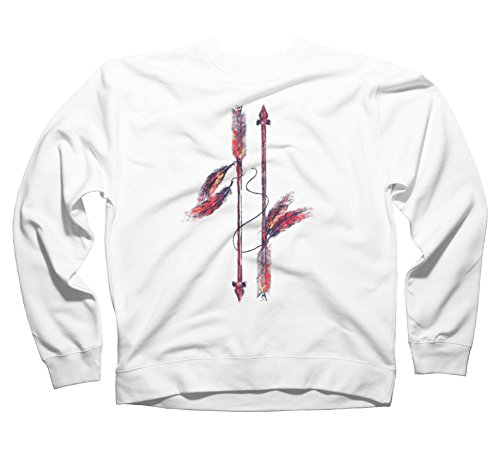 Indian Arrows Men's Graphic Crew Sweatshirt - Design By Humans