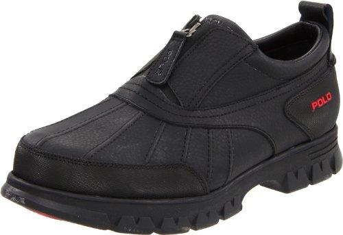 Polo Ralph Lauren Men's Kewzip Ii Zip-Up Hiking Boot,Black,15 D US