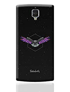 PosterGuy One Plus 3 Case Cover - Magnanimous (Pink) | Designed by: Dilpreet Singh
