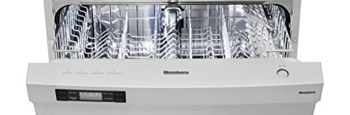 Blomberg Dw24100Ss Dishwasher With Ada Tub Front Controls, 14 Place Settings, Stainless Steel