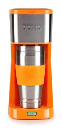 Domo-DO-439K-Cafetire-Caf-MouluDosettes-Orange
