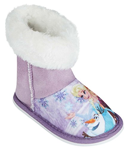 Disney Frozen - Il regno di ghiaccio Ragazze Pantofole - viola - 30/31