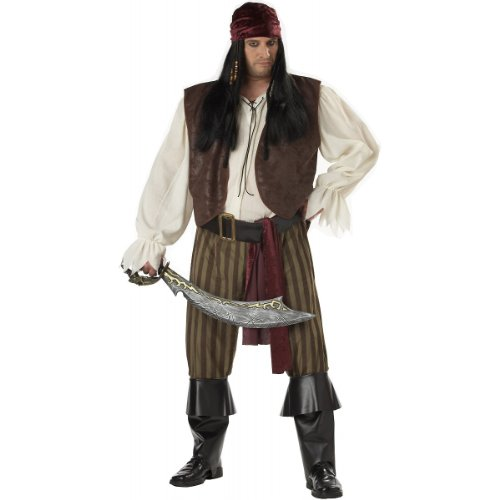 Rogue Pirate Costume - XX-Large - Chest Size 48-52