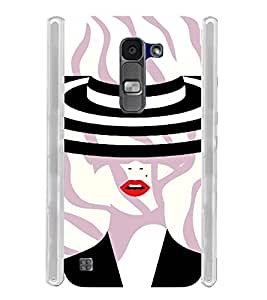 Girly Self Design Soft Silicon Rubberized Back Case Cover for LG Spirit 4G LTE
