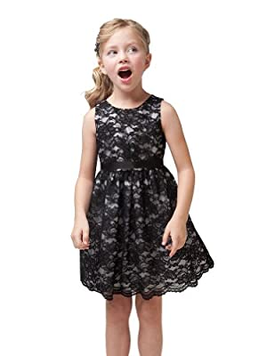 Kid Collection Girls Lace Dress