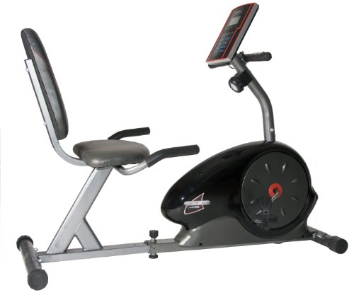 Body Champ Magnetic Recumbent Bike, Black $263.47