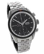 Oris Artix GT Chronograph Black Dial Stainless Steel Mens Watch 674-7661-4154MB